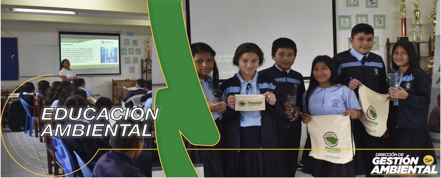 Programa de Educación Ambiental - DGA