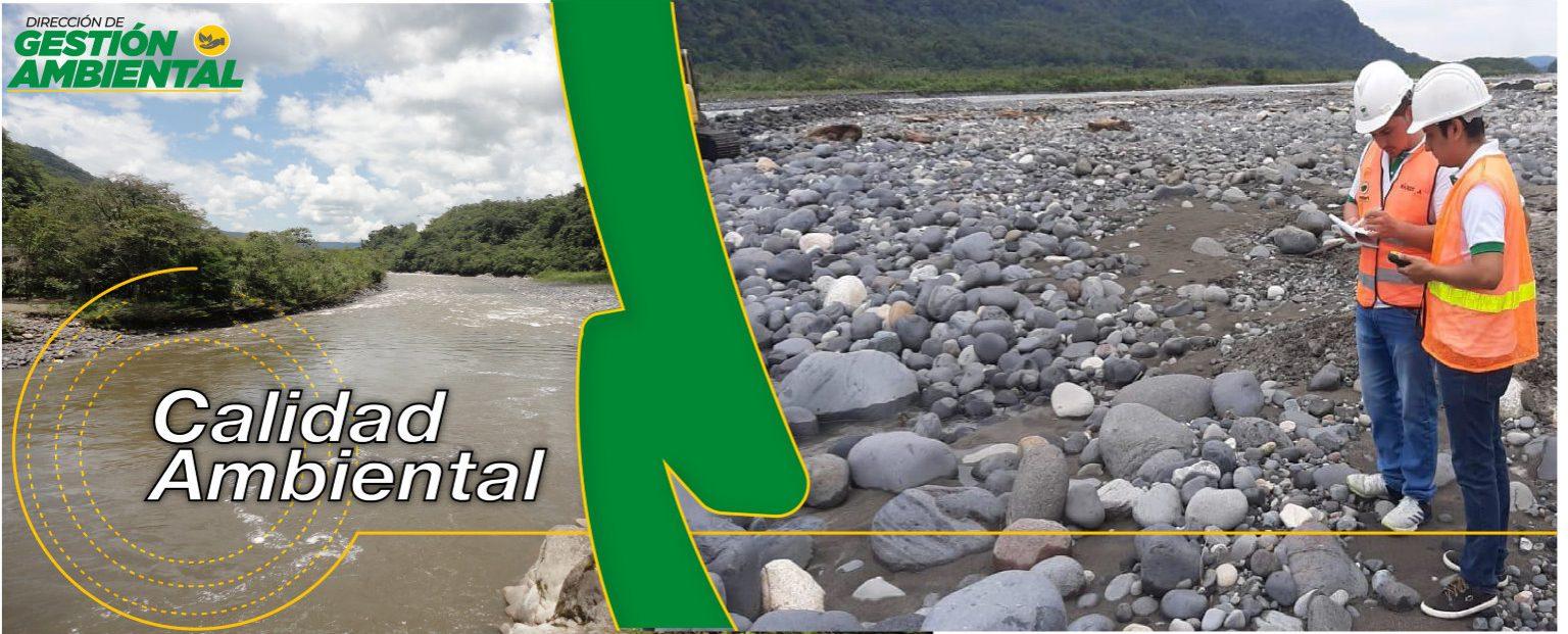 Programa de Calidad Ambiental - DGA