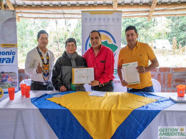 Convenio de Conservación con la Asociación Turística Bosque Protector Yawa Jee