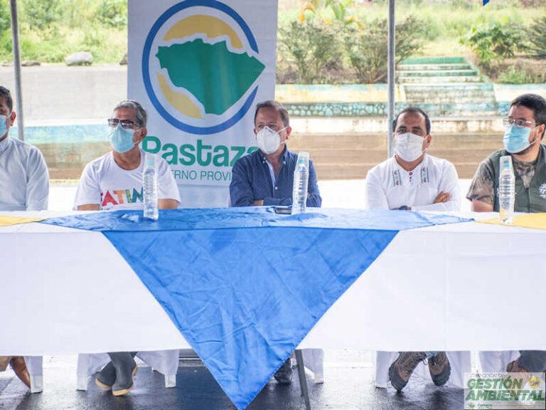 """Primera Minga de Limpieza y Reforestación """"Tu Basura no es parte del Paisaje"""" en la Parroquia Fátima sector Dique de Fátima."""